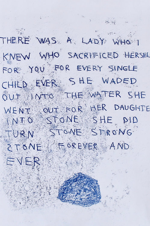 Into Stone She Did Turn