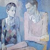 Pablo-Picasso-Acrobate-et-jeune-arlequin