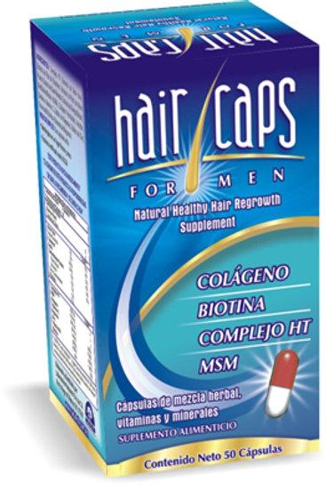 HAIR CAPS ELIMINA LA CALVICIE ALOPECIA POR COMPLETO- PRESENTACION HOMBRE O MUJER