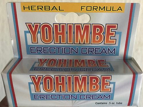 Crema yohimbe O YUMBINA PARA ereccion al instante duracion prolongada Y CLITORIS