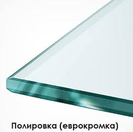Кромка зеркала с фацетом может быть разной ширины, которая определяется размером изделия, необходимостью стыковки и художественным замыслом дизайнера.