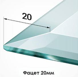 20мм – чаще можно встретить среди отдельно стоящих больших зеркал, в виде панно используется редко.