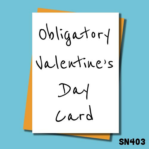 Obligatory valentines card from Jolly Ginger Cards.