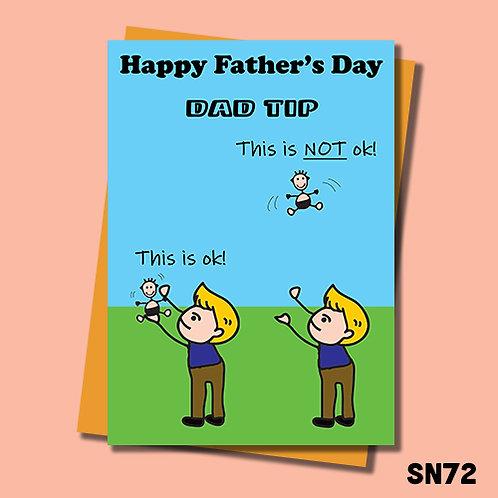 Dad Tip