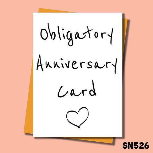 Obligatory anniversary card.