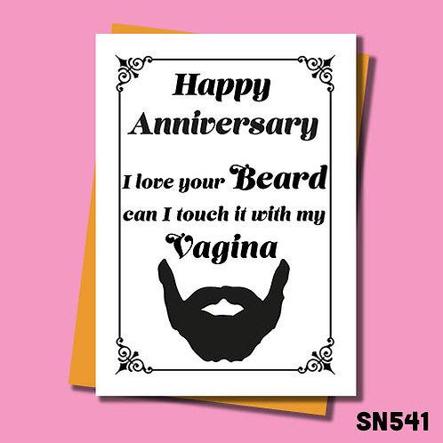 BILF anniversary card.