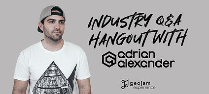 Geojam Experience - Industry Q&A Hangout With Adrian Alexander