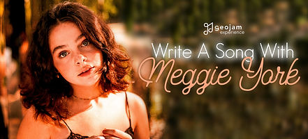 Geojam Experience - Write A Song With Meggie York