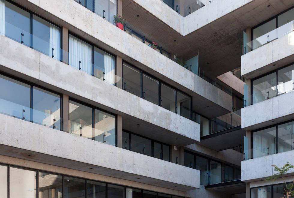 Entre Verdes - Detalle fachada 2