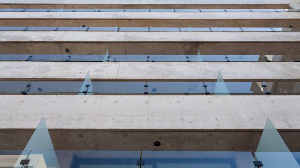 Entre Verdes - Detalle fachada