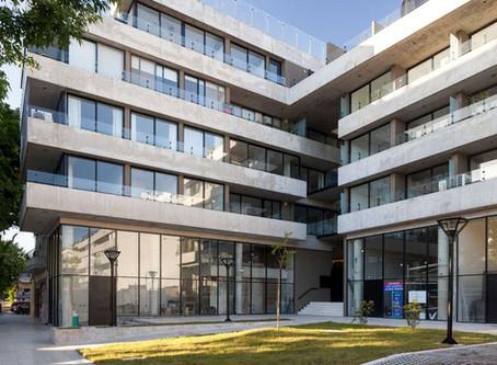 Un edificio en Donado-Holmberg define el futuro de la ciudad