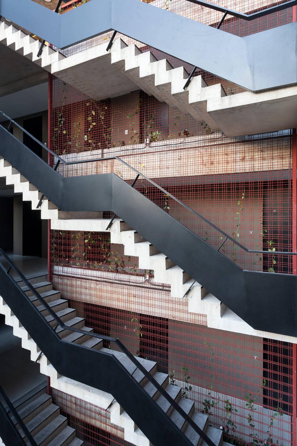 Entre Verdes - Escaleras