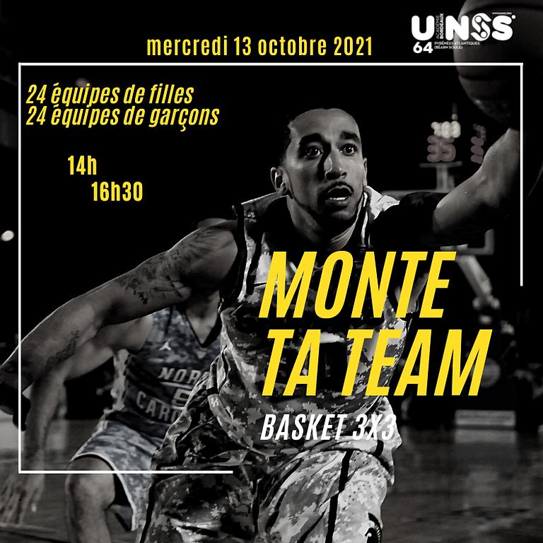 Tournoi Basket 3x3 - 13/10/2021
