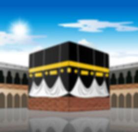 kaaba-mecca-saudi-arabia-vector-24930681