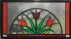 Drie tulpen, art Deco
