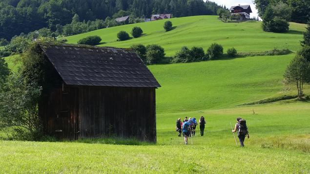 Gosaukamm - Richtung Altaussee