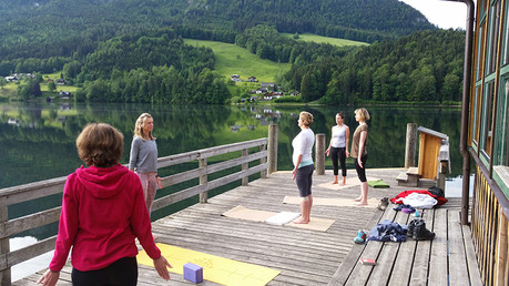 Grundlsee - Yoga am See