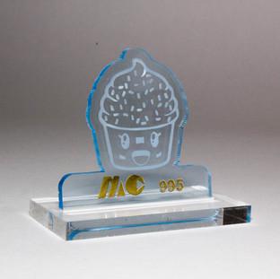 BLUE 995 | TRANSPARENT GLASS BLUE ACRYLIC