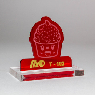 RED 102 | TRANSPARENT RED ACRYLIC