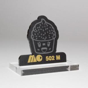 BLACK 502M | MATTE BLACK ACRYLIC