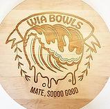 Laser engraved wooden signage