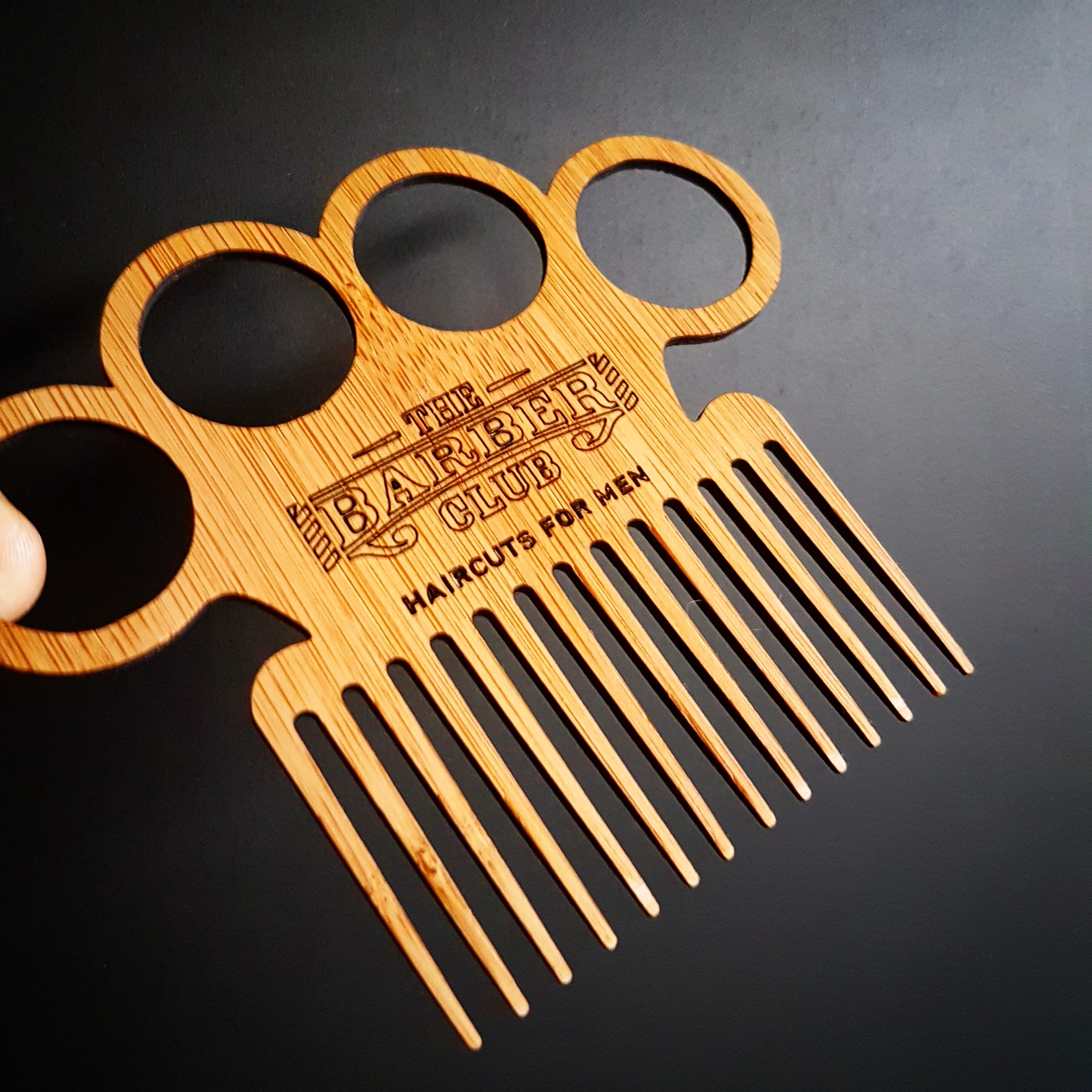 promotional beard comb