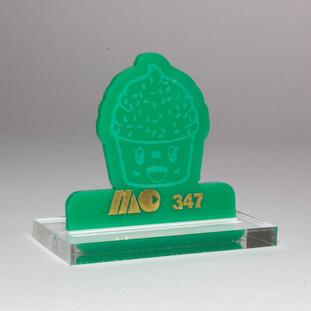GREEN 347 | SOLID GREEN ACRYLIC