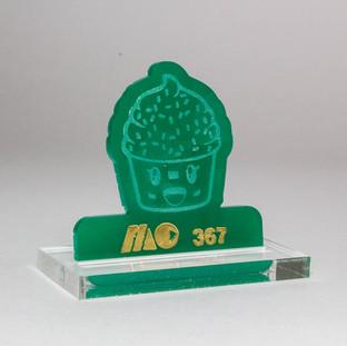 GREEN 367 | SOLID GREEN ACRYLIC