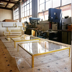Brass Trimed acrylic boxes
