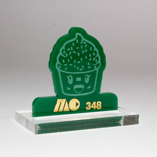 GREEN 348 | SOLID GREEN ACRYLIC