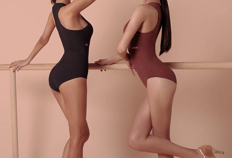 Smooth Curve Bodysuit #2032