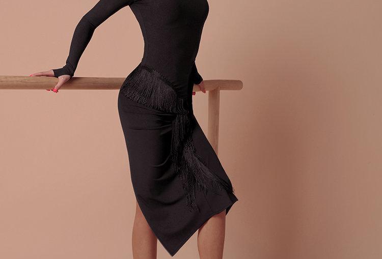 The Curve Fringes Maxi Dress #2046H