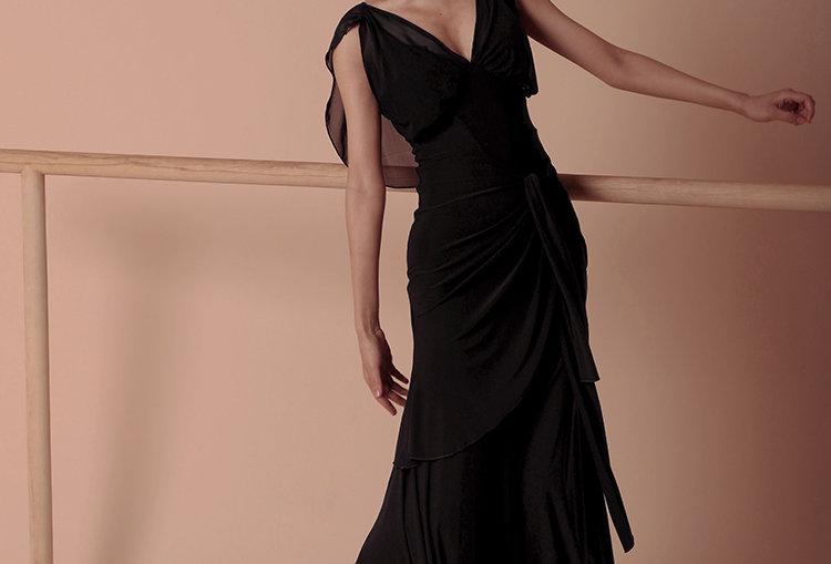 Spinning Ballroom Maxi Dress #20303H