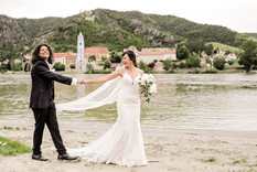 Hochzeit am Donaustrand Wachau