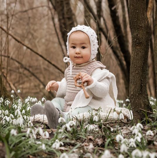Babyshooting im Wald