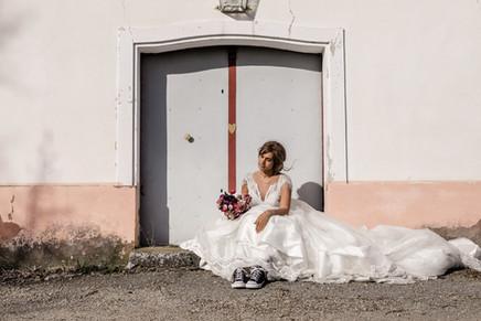 After Wedding Shooting Kellergasse Niederösterreich