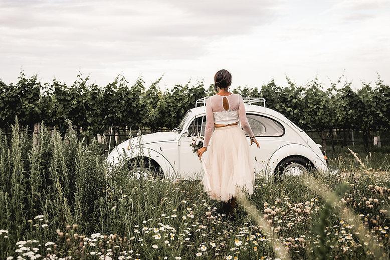 Kamillenfeld Vintage Wedding Luft und Li