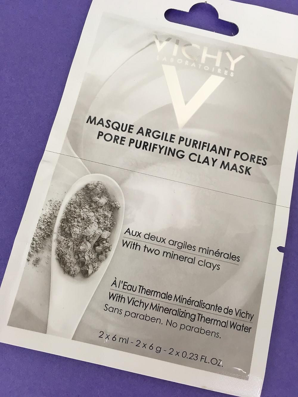 Máscara mineral de argila purificante da Vichy