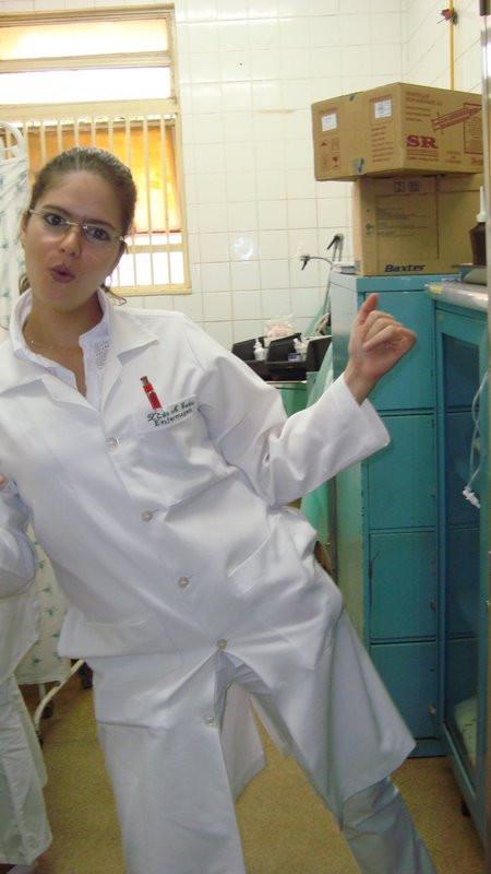 Zênia Guedes enfermagem estágio