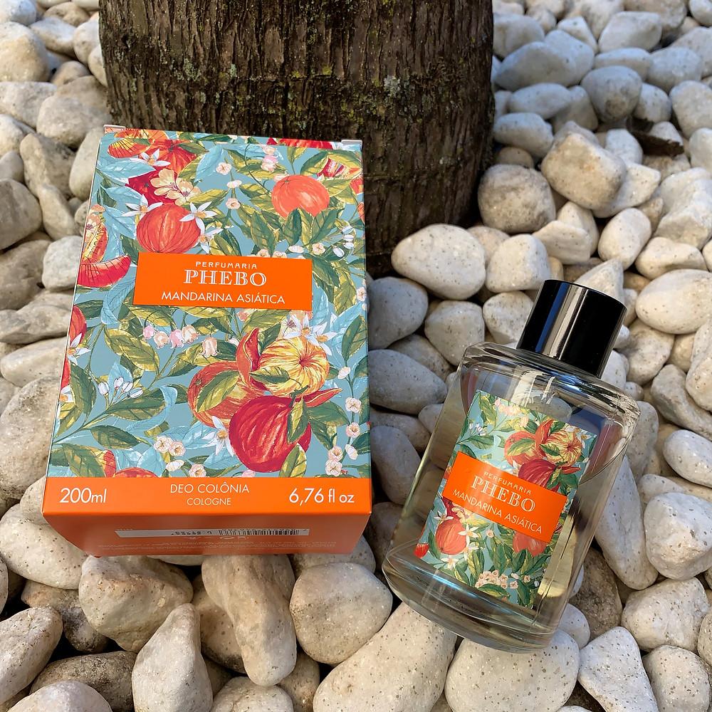 Deo Colônia Mandarina Asiática Phebo Perfumaria
