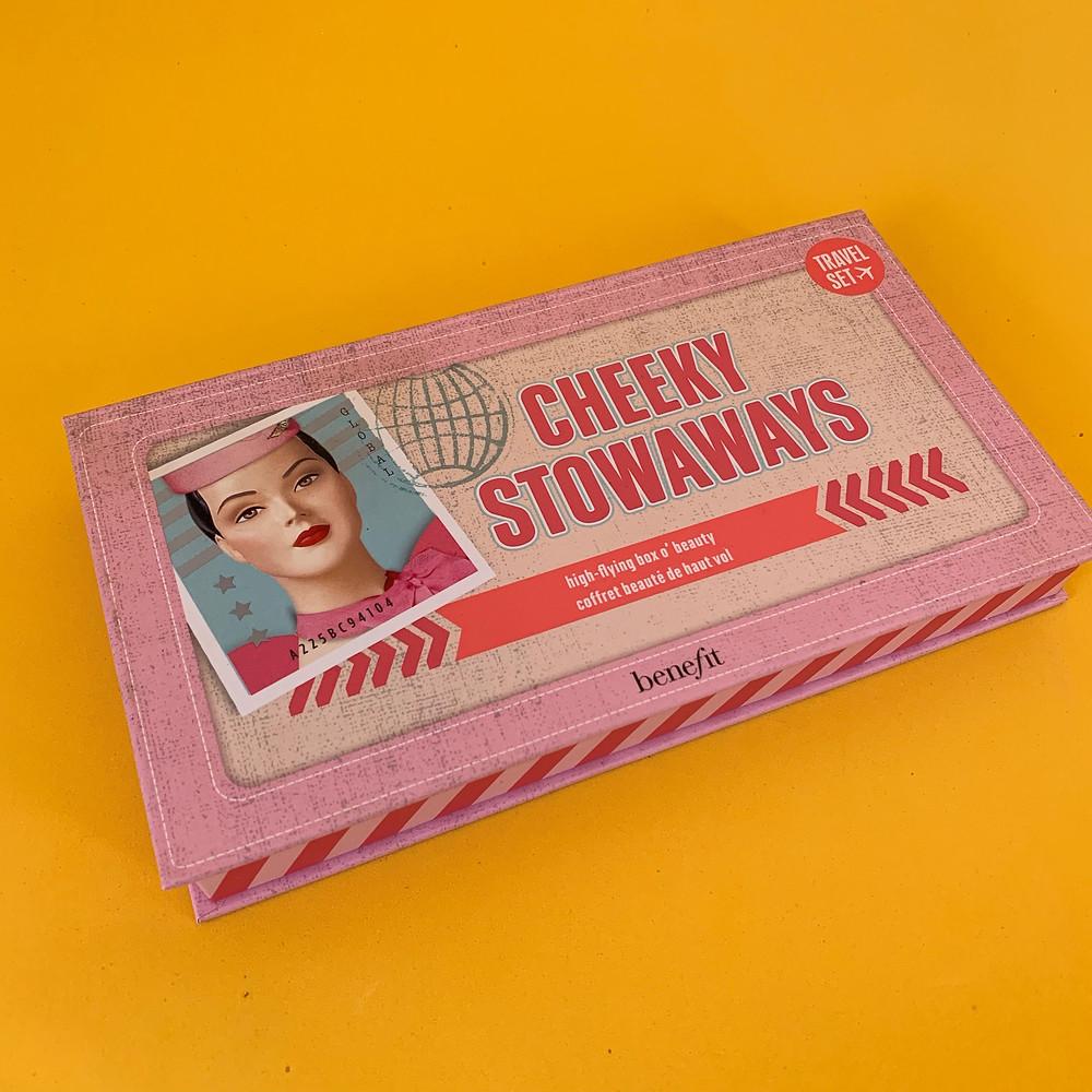 Cheeky Stowaways Paleta de contornos e blush Benefit
