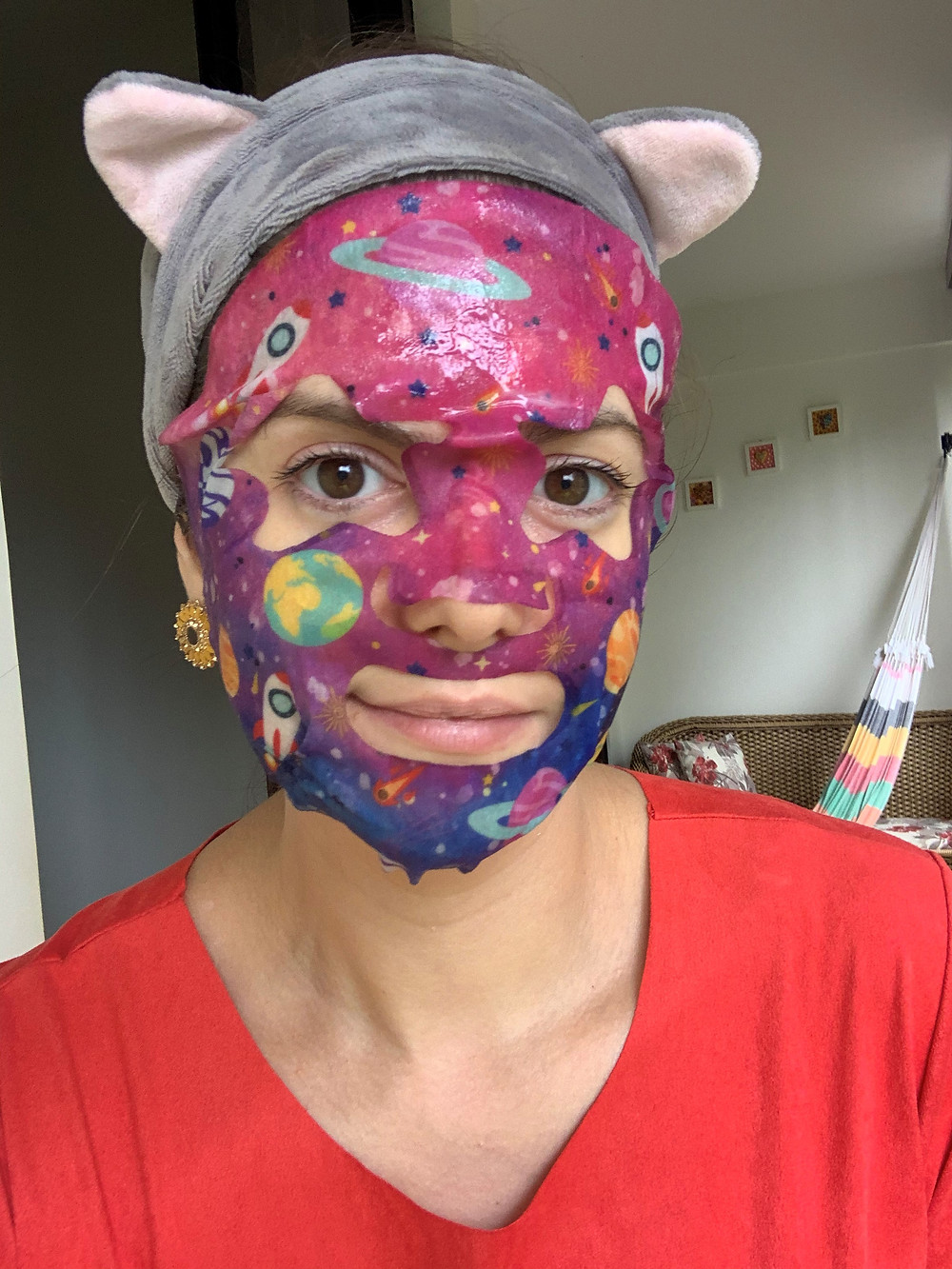 Máscara facial Hialuronic Galaxy Maika Beauty