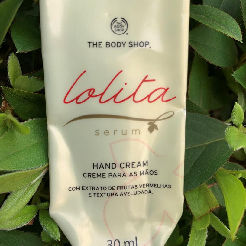 Creme para as mãos Lolita Sérum The Body Shop | Acabou
