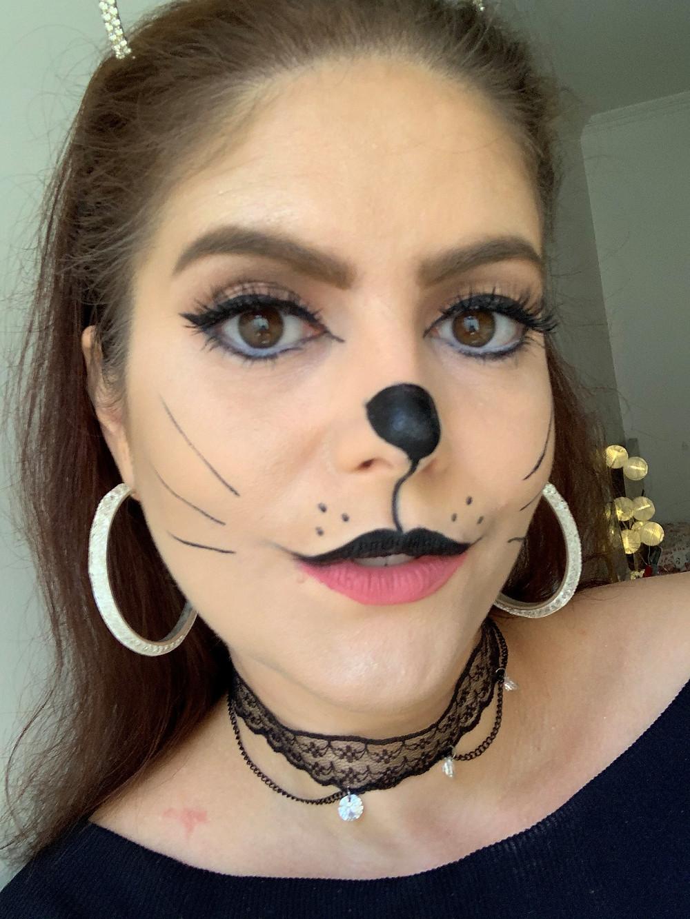 Maquiagem de mulher gato | Carnaval