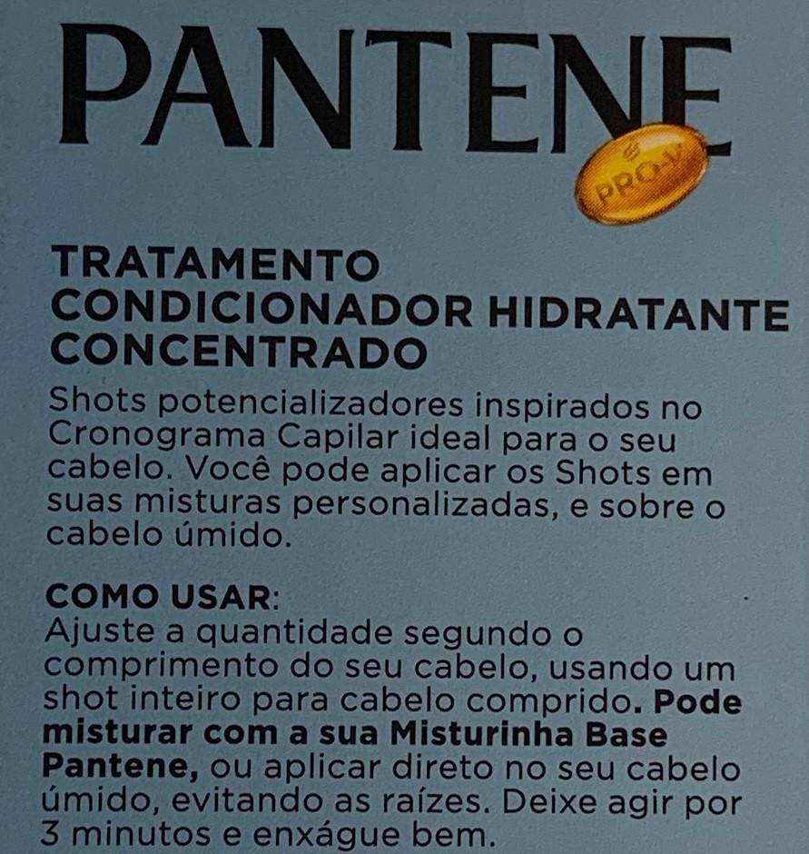 Ampola Shot Potencializador Hidrata PANTENE
