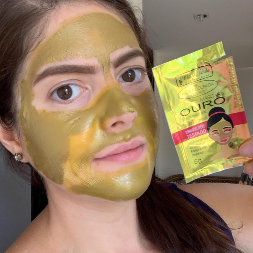 Máscara facial Ouro Matto Verde Professional | Odor fétido
