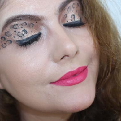 CARNAVAL 2017   Maquiagem de Onça Pintada