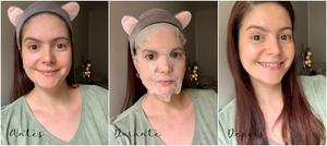 Máscara facial de tecido de abóbora   Pumpkin I'm Real TonyMoly
