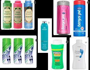 Talco em pó, cremoso, aerossol ou líquido | Qual escolher, amiga?