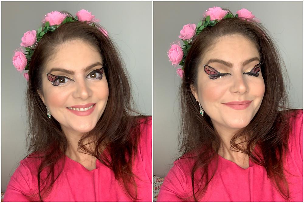 Butterfly Inspiração Maquiagem Carnaval